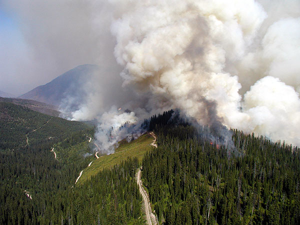 File:Glacier National Park Wildfires in 2003.jpg