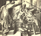 Saul Tries to Kill David by Julius Schnorr von Carolsfeld.png