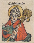 Saint Eusebius of Vercelli - Nuremberg chronicles f 128r 4..jpg