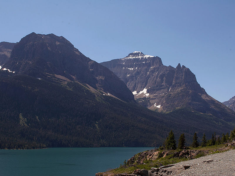 File:Mountains in Glacier National Park in Montana 001.jpg