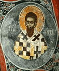 Saint Titus - Kosovo 14th c. Pech Patriarch - St. Nicholas church.jpg