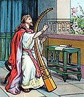 King David Praises God With His Harp 001.jpg